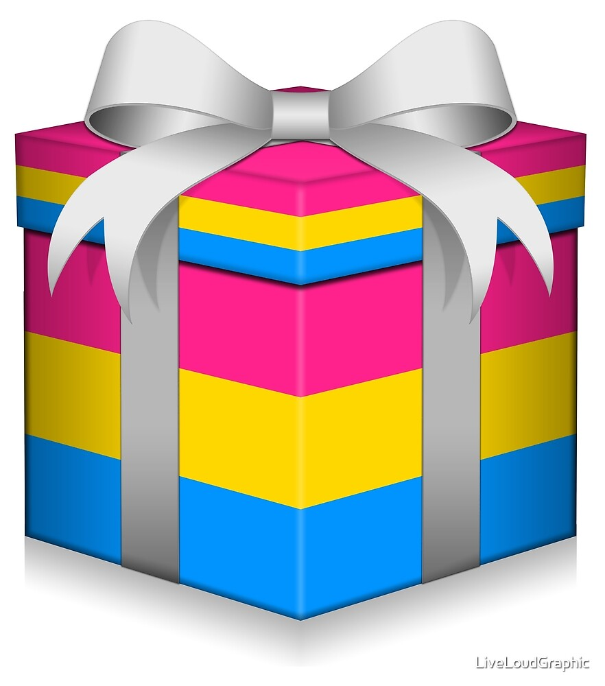 Pansexual Gift Box  by LiveLoudGraphic