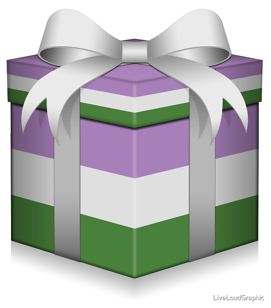 Genderqueer Gift Box  by LiveLoudGraphic
