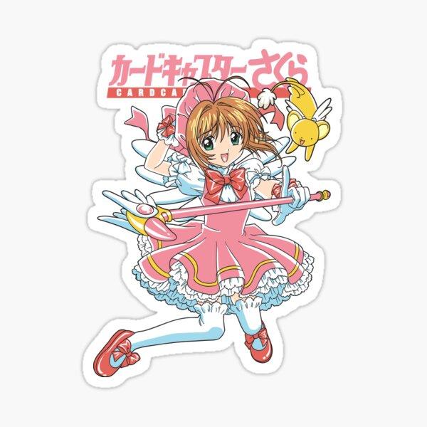 Magical girl Pegatina