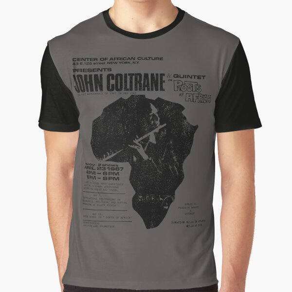 Coltrane - Roots of Africa (distressed design) Graphic T-Shirt
