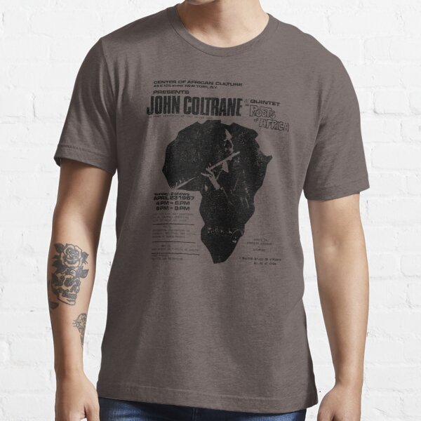 Coltrane - Roots of Africa (distressed design) Essential T-Shirt