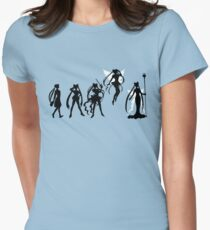 Moon Evolution Womens Fitted T-Shirt