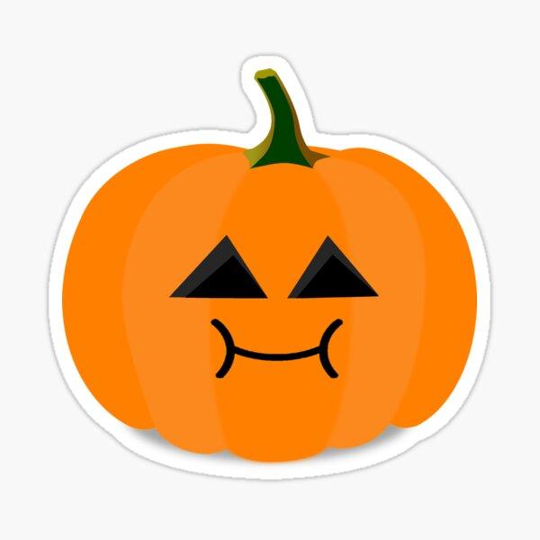 Trick or Treat-Loving Pumpkin Sticker