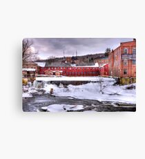 collinsville axe factory  in connecticut ax factory ct Canvas Print
