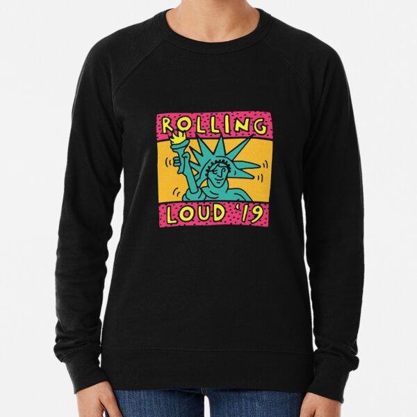 ROLLING LOUD ON FIRE NYC 2019                                   #findyourthing Lightweight Sweatshirt