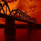 *Burnt Orange Bridge* by AlexMac