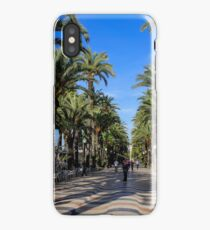 Alicante, Explanada de España iPhone Case/Skin