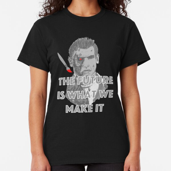 Cyborg Artist Classic T-Shirt