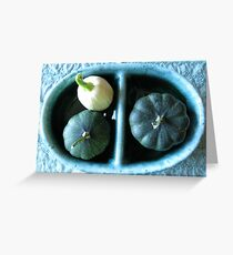 Acorn Butternut Squash Still Life  Greeting Card