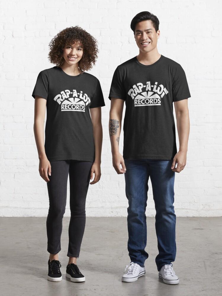 Rap-A-Lot Records Black Logo T Shirt Mens Hip Hop Houston Rap Tee Geto Boys New