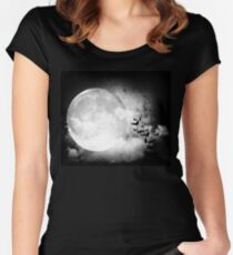 Gothic Night Women's Fitted Scoop T-Shirt