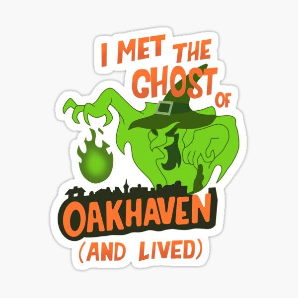 Witch's Ghost Sticker