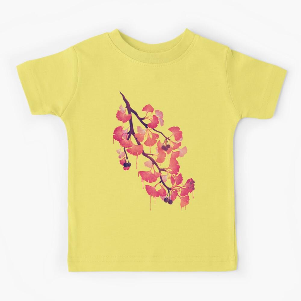 Oh ginkgo Camiseta para niños