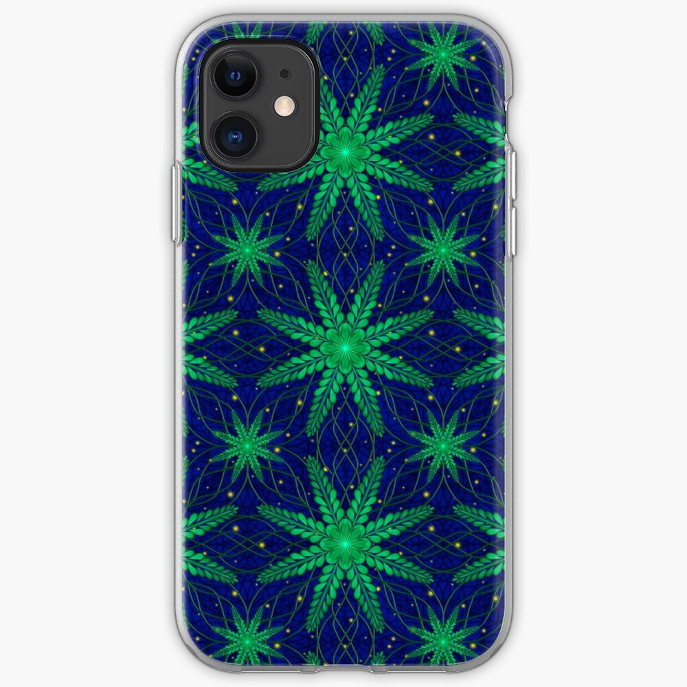 Web of Leaves and Light iPhone Case & Cover