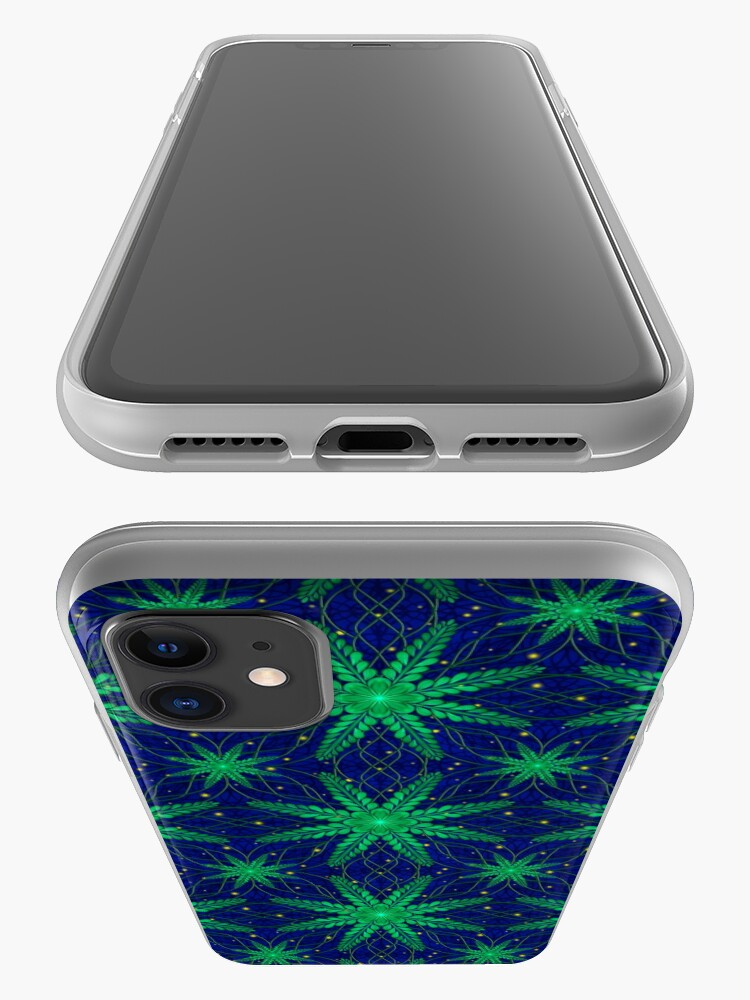 Alternate view of Web of Leaves and Light iPhone Case & Cover