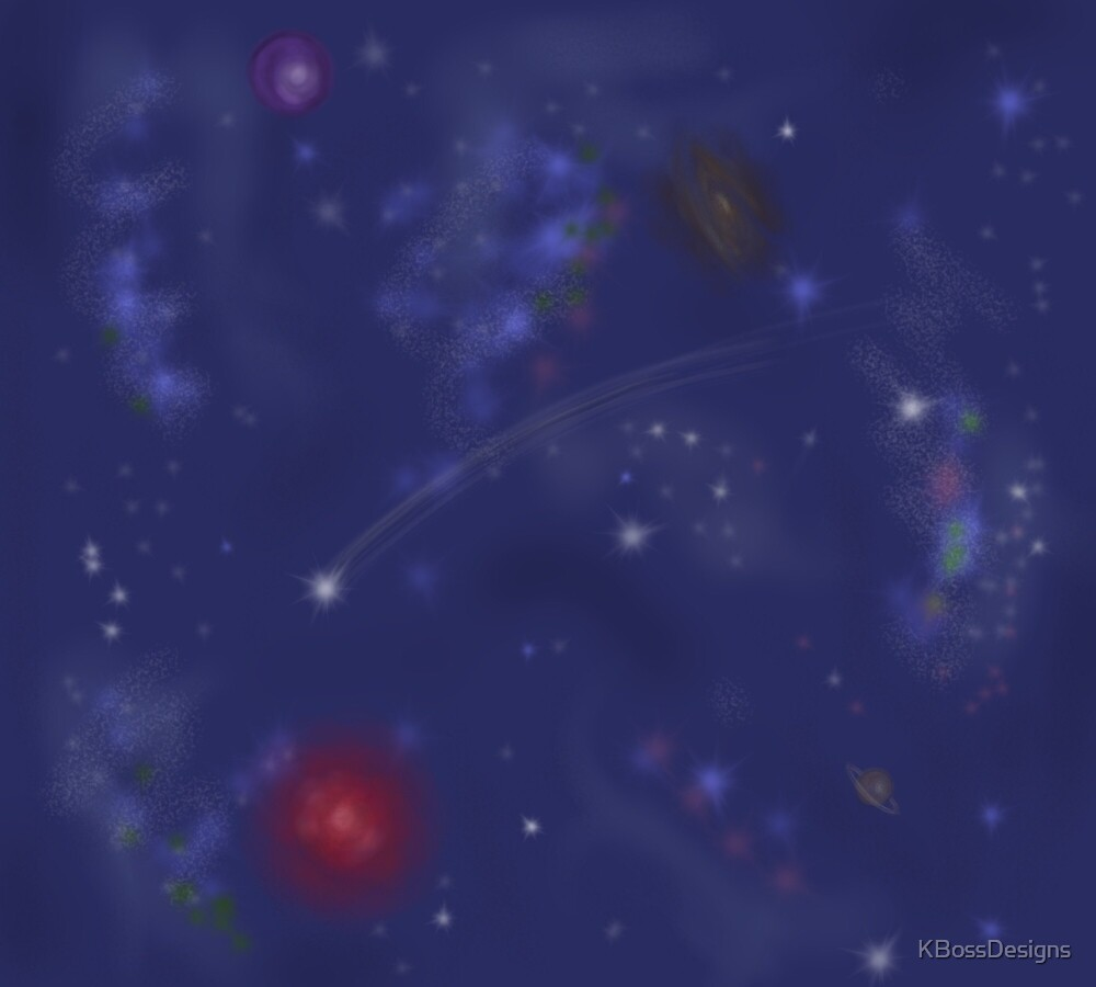 Wondrous Space by KBossDesigns