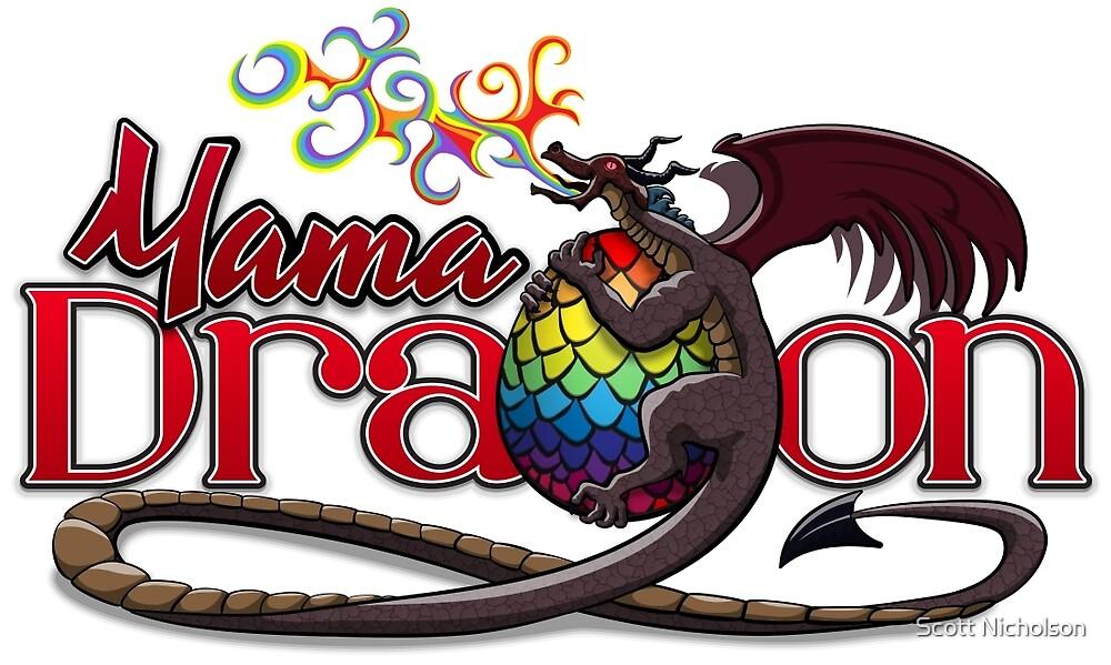 Mama Dragon – Dark by Scott Nicholson