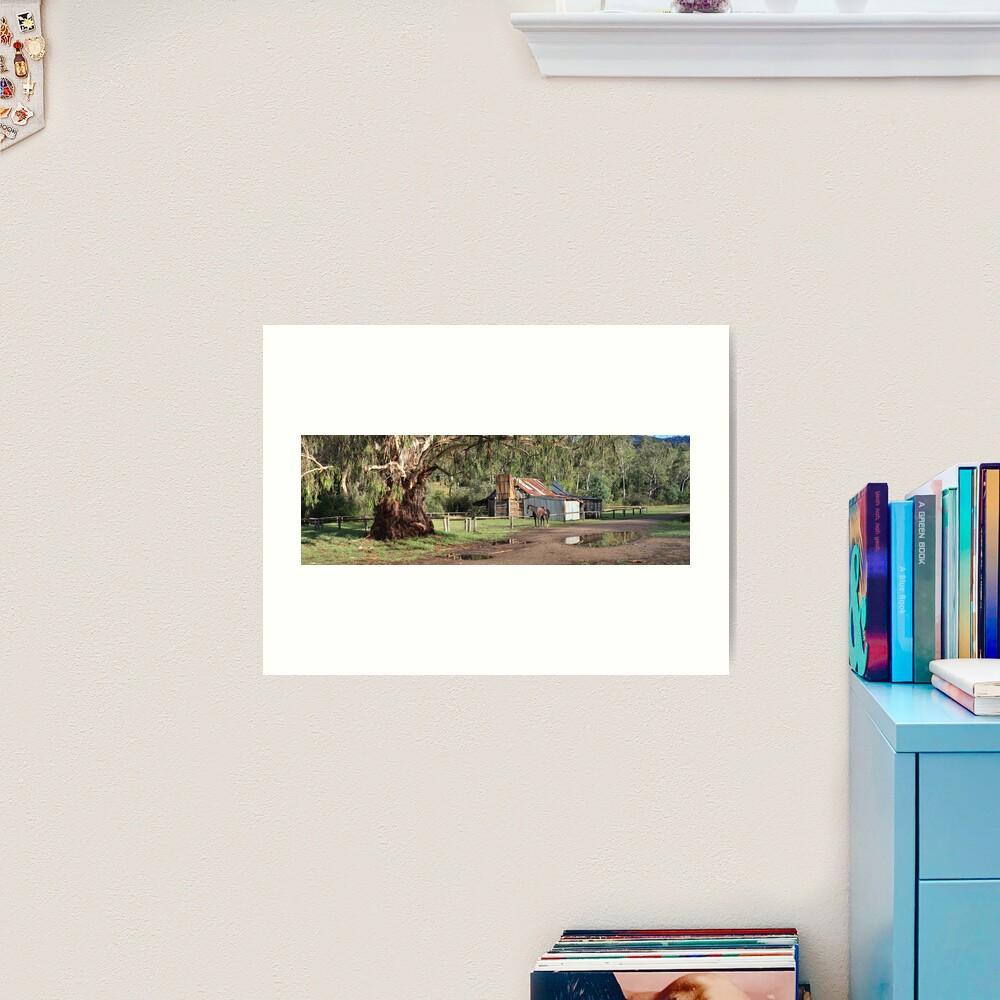 Frys Hut, Howqua Hills, Australia Art Print