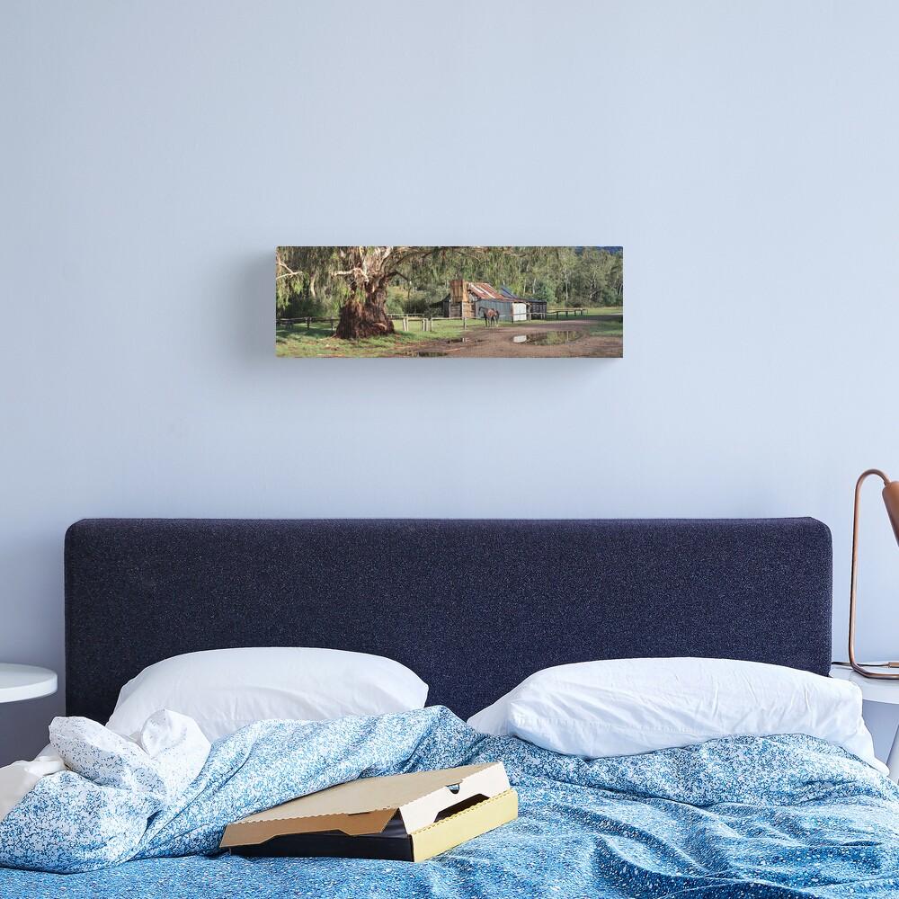 Frys Hut, Howqua Hills, Australia Canvas Print