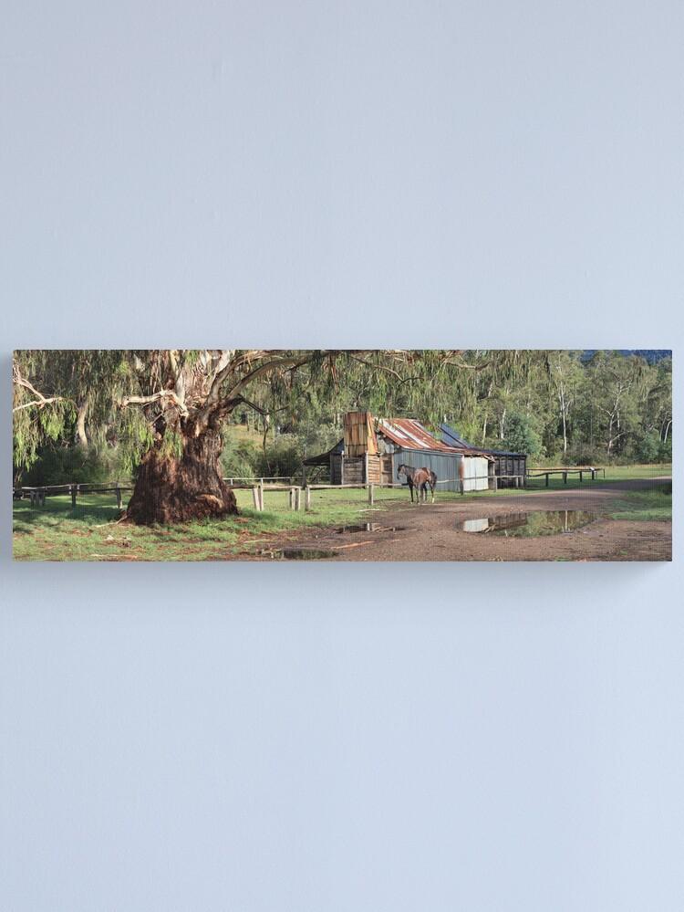 Alternate view of Frys Hut, Howqua Hills, Australia Canvas Print