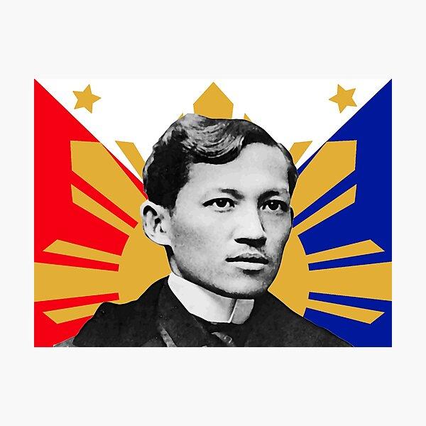 Rizal Flag Photographic Print