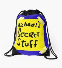 Michael's Secret Stuff - Space Jam Bottle  Drawstring Bag