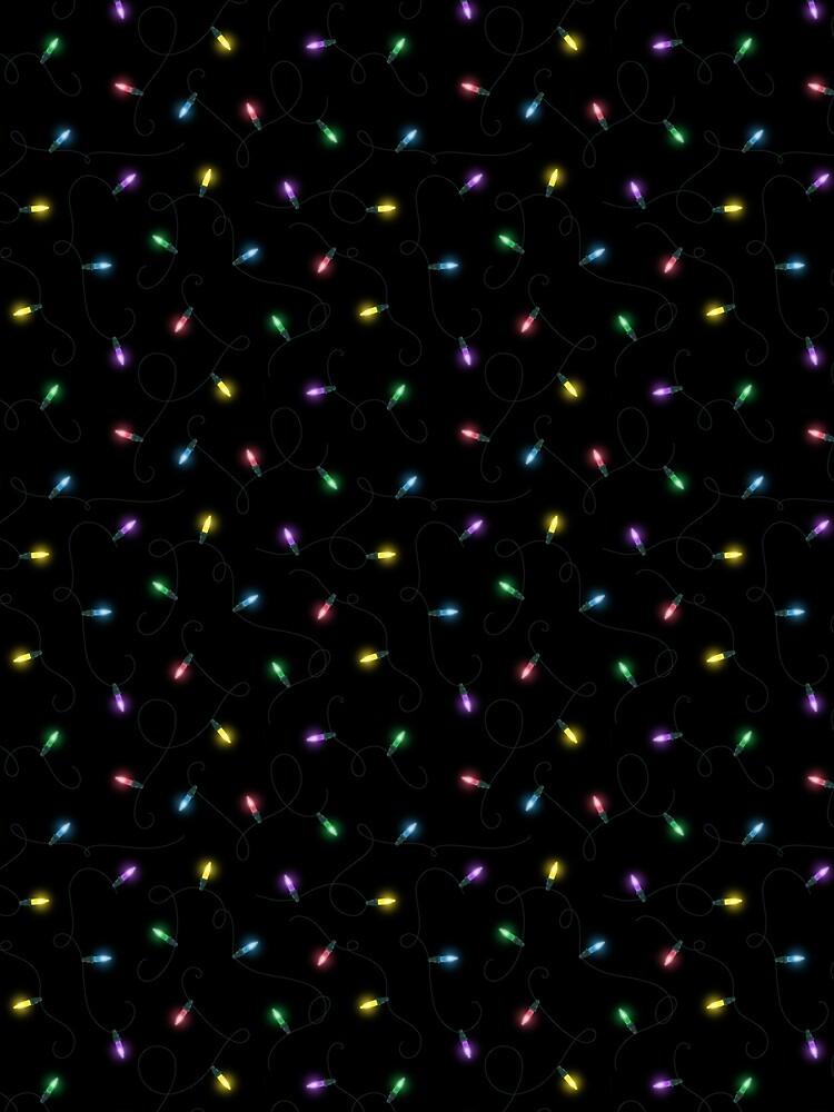 Twinkle Lights - Rainbow by itsaduckblur