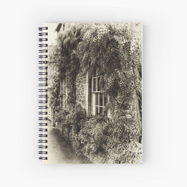 The Wisteria Window Spiral Notebook