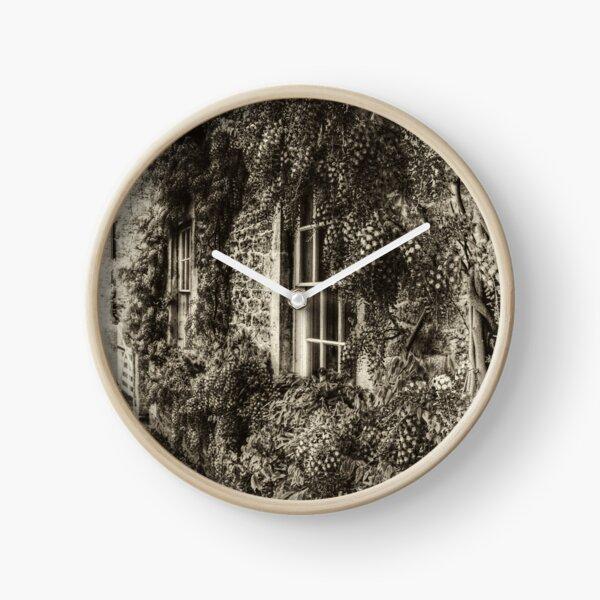 The Wisteria Window Clock