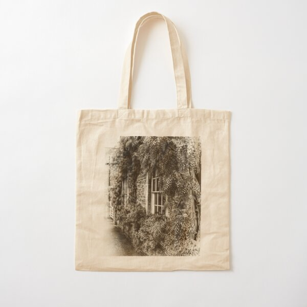 The Wisteria Window Cotton Tote Bag