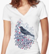 Melt With You Women's Fitted V-Neck T-Shirt