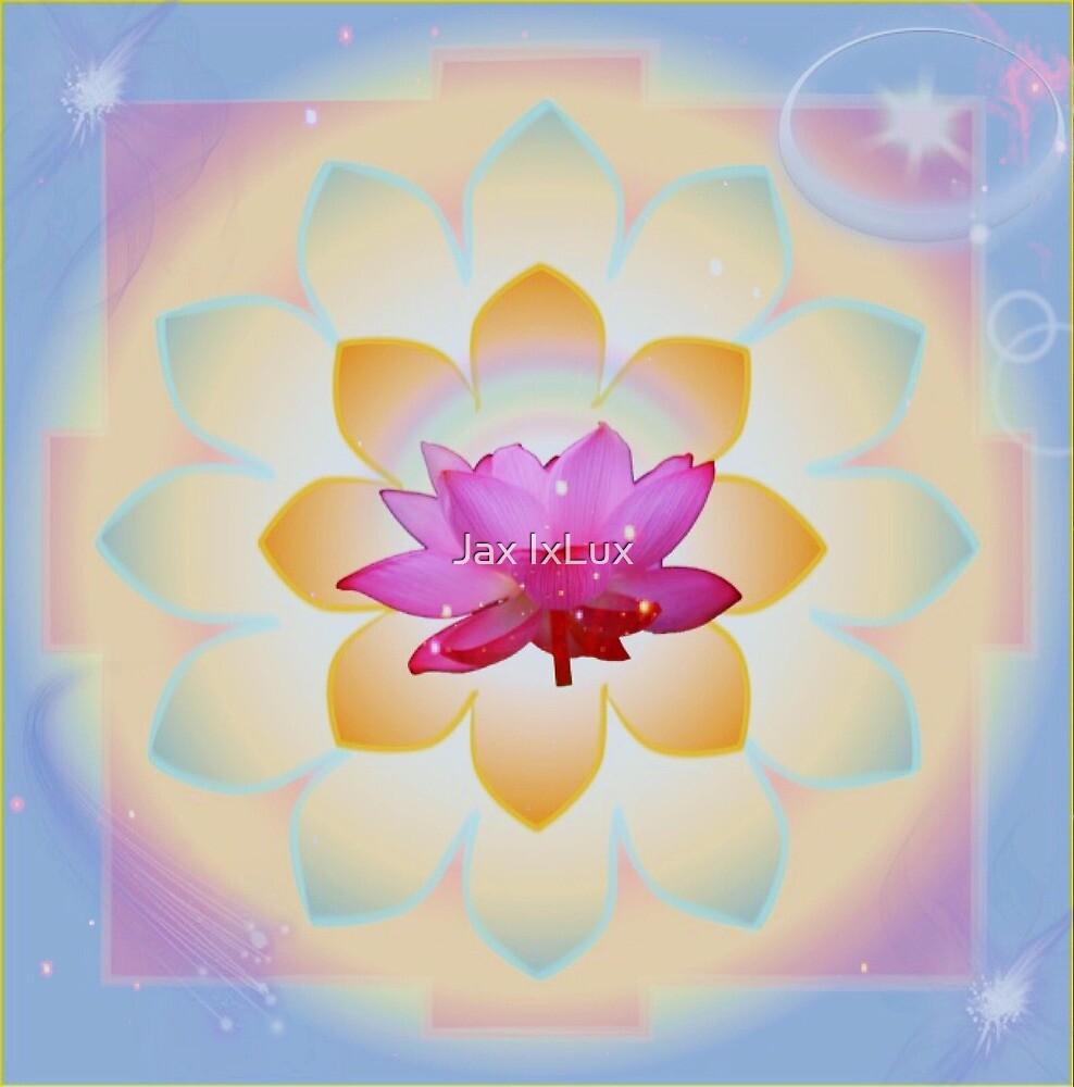 Galactic Lotus  by Jax IxLux
