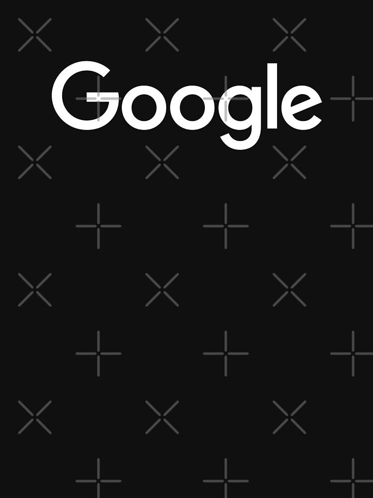 New White Google Logo (September 2015) - Clear, High-Quality, Large | Unisex T-Shirt