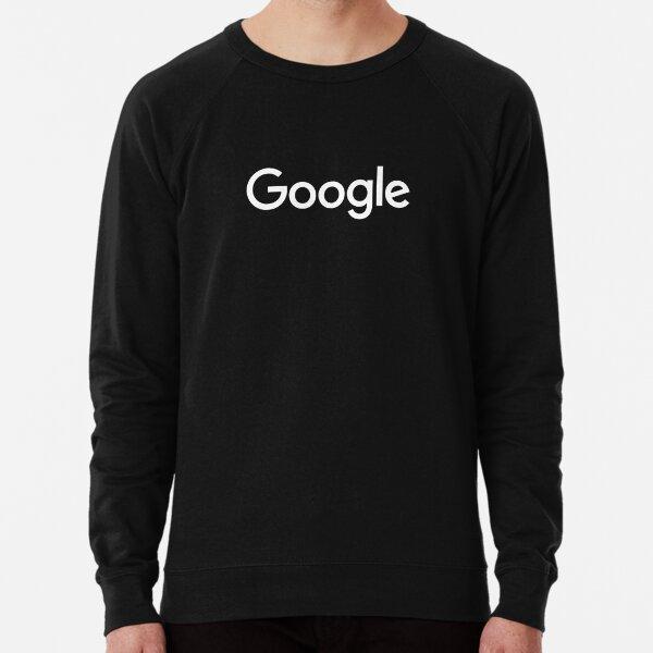 New White Google Logo (September 2015) - Clear, High-Quality, Large Lightweight Sweatshirt
