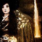 Geisha at the Waterfall by Jeff Burgess