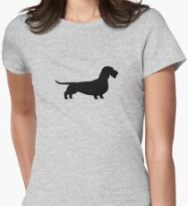 Wire Haired Dachshund Silhouette(s) T-Shirt