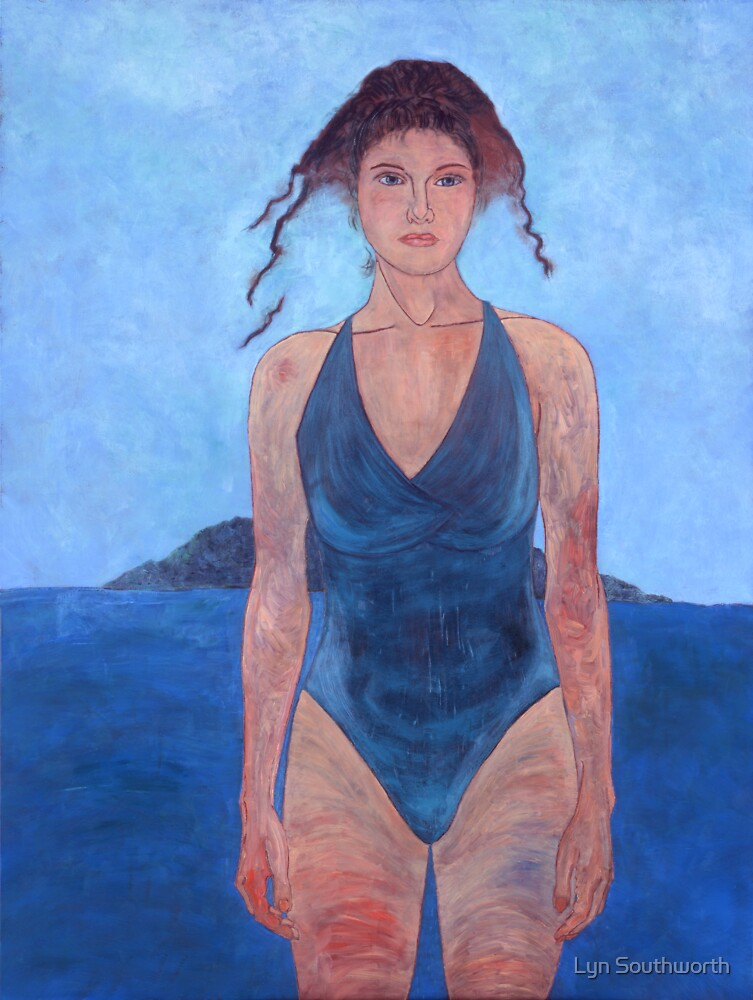 Woman With Water - II by Lyn Southworth