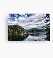 Bridge from Inlet Canvas Print