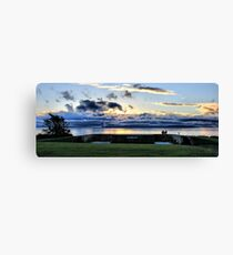 Viewing the Sunset Canvas Print
