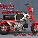 Honda Monkey CZ 100 Mark 1 Photo 1.1 von IngoLaue