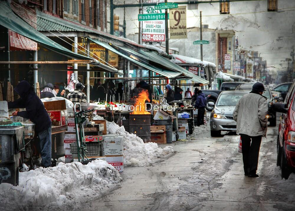 9th & Washington ~ Italian Market by Lori Deiter