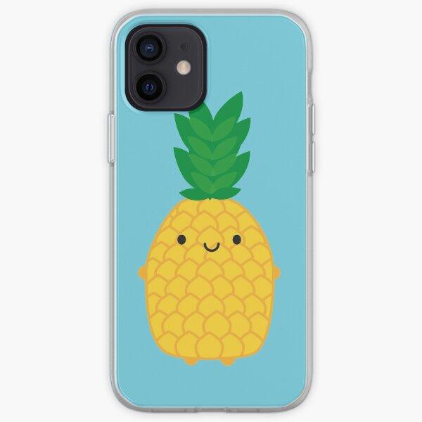 Kawaii Pineapple iPhone Soft Case
