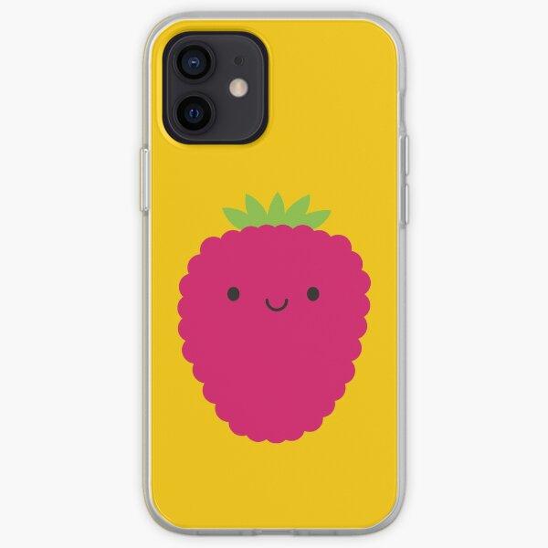 Kawaii Raspberry iPhone Soft Case
