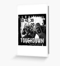 50..30..10..Touchdown! Greeting Card