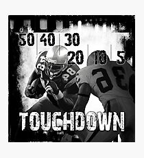 50..30..10..Touchdown! Photographic Print