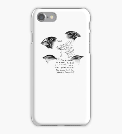 Darwin's Finches iPhone Case/Skin