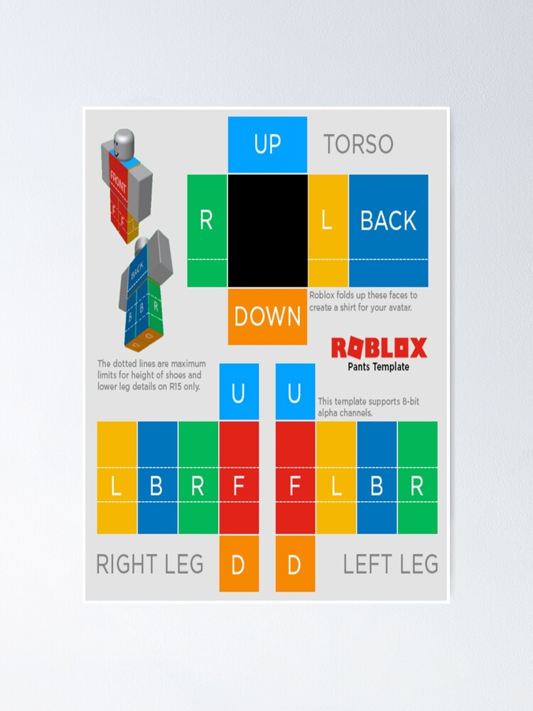 Robloc Shirt Poster By Strippedoaklog Redbubble