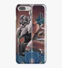 Optimus and Megatron and the Blue Flowers iPhone 7 Plus Case