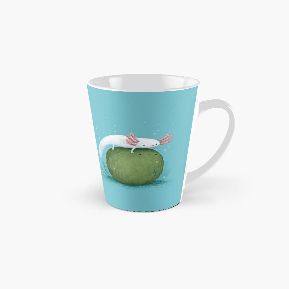 Axolotl on a Mossball Mug
