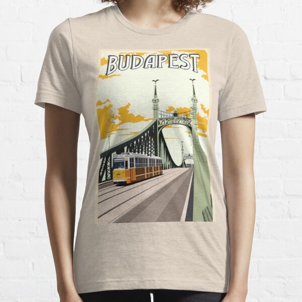 Budapest Vintage Essential T-Shirt